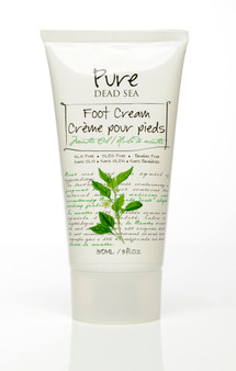 Pure Dead-Sea Mint Oil Foot Cream