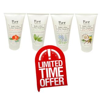 Purse Dead Sea Body Lotion 4 Flavors
