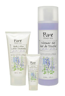 Pure Dead Sea Lavender Skin Care Kit is perfect for your skin