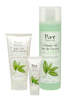 Pure Dead Sea Green Tea Skin Care Kit is perfect for your skin