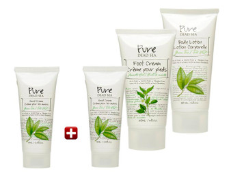 Green Tea Free Cream Kit brought you by Pure Dead Sea