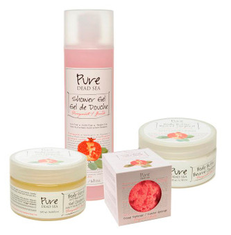 The BestAnti aging Pomegranate Dead Sea Spa Products Kit