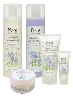 Pure Dead Sea Lavender Body Care Kit is perfect for your skin