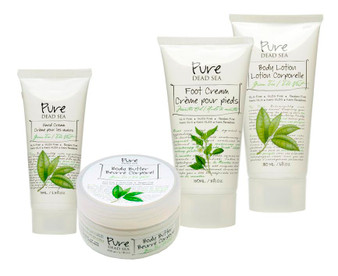 Pure Dead Sea Green Tea Skin Care Products Kit is perfect for your skin