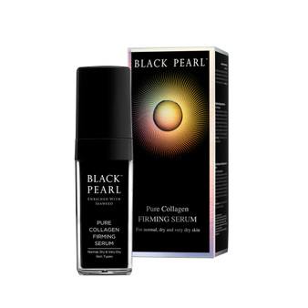Use Dead-Sea Black Pearl Pure Collagen Firming Serum by SEA of SPA For Your Face and Neck