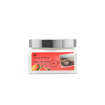 Use Dead-Sea Sea of Spa Sea of Spa Body Butter Red Grapefruit Aroma to give your skin the perfect gift