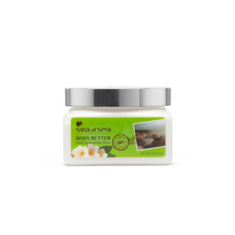 Use Dead-Sea Sea Of Spa Body Butter Green Tea & Jasmine Bloom to give your skin a perfect gift