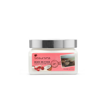 Use Dead-Sea Sea Of Spa Body Butter Litchi & Coconut Aroma to give your skin the perfect gift