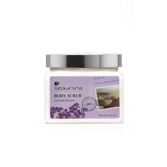 Use  Dead-Sea Sea of Spa Body Scrub Lavender Blossom to give your skin the perfect gift
