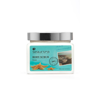 Use  Dead-Sea Sea of Spa Body Scrub Ocean to give your skin the perfect gift