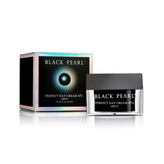 Dead-Sea Black Pearl Perfect Day Cream 45+ by SEA of SPA is an effective cosmetic product for moistening very dry mature skin.