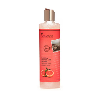 Dead-Sea Sea of Spa Red Grapefruit Aroma Shower Gel by SEA of SPA should be used for showering or bathing. The Sea of Spa Red Grapefruit Aroma Shower Gel is endowed with the properties of several skin care products.
