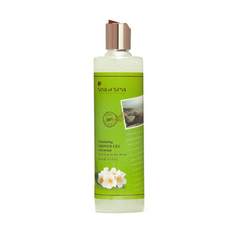 Dead-Sea Sea of Spa Green Tea & Jasmine Bloom Shower Gel by SEA of SPA relieves tension and stress, gives a boost of energy and optimism. Thanks to Sea of Spa Green Tea & Jasmine Bloom Shower Gel the skin becomes velvety and well maintained.