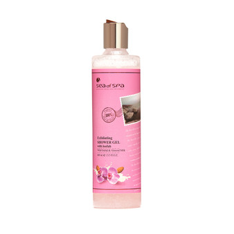 Dead-Sea Sea of Spa Wild Orchid & Almond Milk Shower Gel by SEA of SPA provides a delicate exfoliation using carefully selected natural ingredients. Sea of Spa Wild Orchid & Almond Milk Shower Gel also has an energizing and uplifting properties.