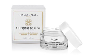 Dead-Sea Satara Natural Pearl Moisturizing Day Cream has a number of useful properties due to a unique combination of high concentration of and macro and micro nutrient compounds which penetrate into the skin, improve blood flow to the tissues and the supply of oxygen to the skin cells.