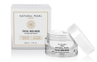 Dead-Sea Satara Natural Pearl Facial Mud Mask evitalizes, cleanses and nourishes the skin, removes excess sebum and surface toxins.