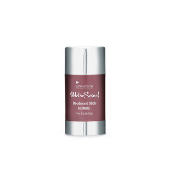 Dead-Sea SEA of SPA Metrosexual Deodorant Stick for Men has a pleasant flavor with a refreshing twist. SEA of SPA Metrosexual Deodorant Stick for Men has a soft, dense texture, easy to apply, distribute evenly and dries instantly, immediately starting to regulate sweating.