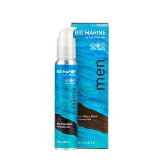 Dead-Sea Bio Marine SEA of SPA After Shave Balm effectively restores the top layer of the skin after shaving procedure, soothes inflamed skin and relieves irritation. Bio Marine After Shave Balm is suitable for face and neck skin.