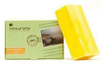 Dead Sea Sea of SPA Sulfur Soap benefits your skin.