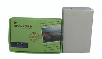 Dead Sea Salt Soap for soft and clean feeling of the skin