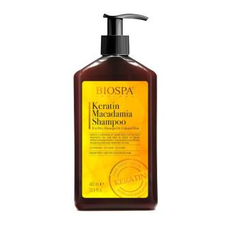 Dead-Sea Keratin Macadamia Shampoo For Dry Damaged Colored Hair