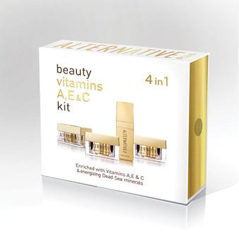 Sea Of Spa Alternative Plus 4 in 1 Facial Care Kit Gift set