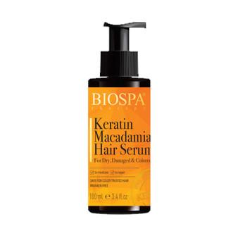 Keratin Macadamia Hair Serum For Dry Damaged & Colored Hair