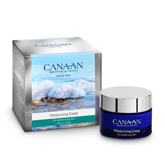 Canaan Silver Line Moisturizing Cream For Normal To Dry Skin With dDead Sea Minerals