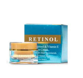Dead-Sea SPA Cosmetics Retinol & Vitamin E Eye Cream With Dead Sea Minerals