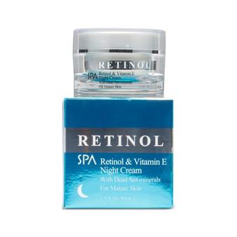 Retinol & Vitamin E Night Cream With Dead Sea Minerals