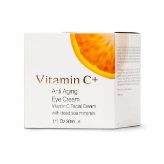 Dead-Sea Vitamin C+ Anti Aging Eye & Face Cream With Dead Sea Minerals