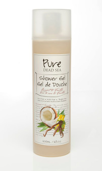 Pure Dead-Sea Vanilla Coconut Shower Gel