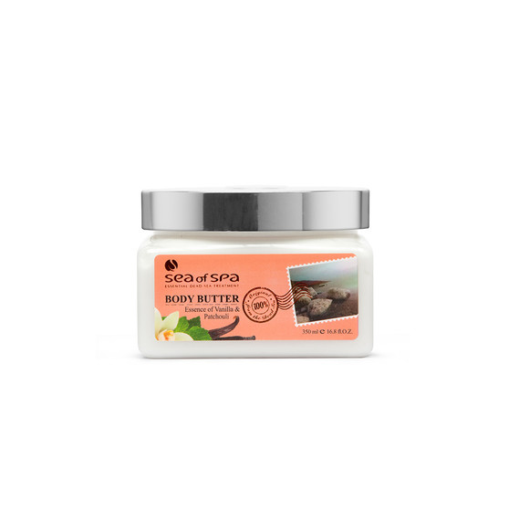 Use Dead-Sea Sea Of Spa Body Butter Vanila & Patchouli to give your skin the perfect gift