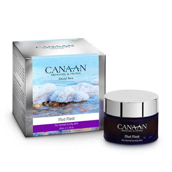 Canaan Mud Mask For Normal To Oily Skin With Dead Sea Minerals