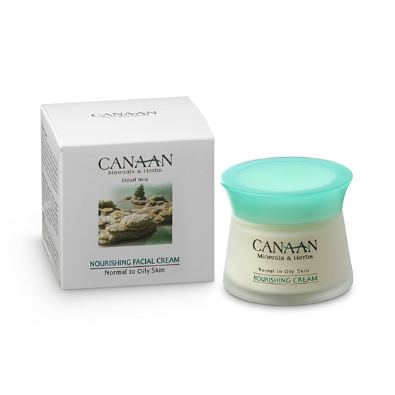 Dead-Sea Canaan Nourishing Facial Cream For Normal To Oily Skin