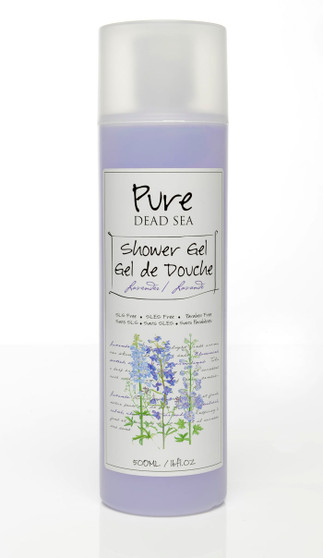 Pure Dead-Sea Lavender Shower Gel