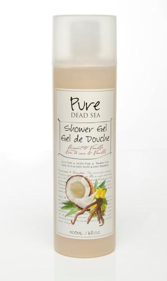 Pure Dead-Sea Vanilla Coconut Shower Gel