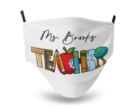 Teacher Tools Personalized Mask