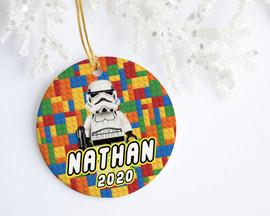 Lego Personalized Christmas Ornament | Favors, Decor & More
