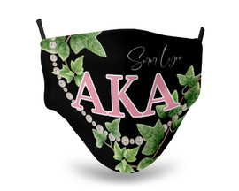 Alpha Kappa Alpha Personalized Face Mask