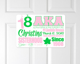 Alpha Kappa Alpha Crossing Sign