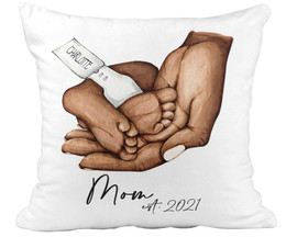 Personalized Mothers Day Pillow