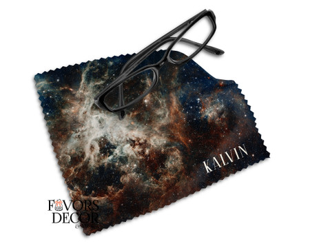 Galaxy Print Personalized Cleaning Cloth