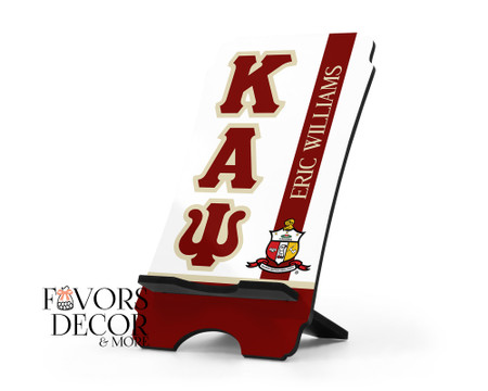 Kappa Alpha Psi Personalized Cell Phone Stand