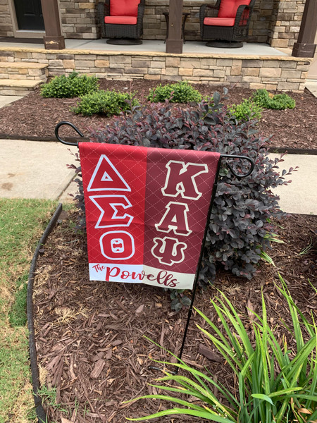 Delta Sigma Theta Kappa Alpha Psi Combination Flag