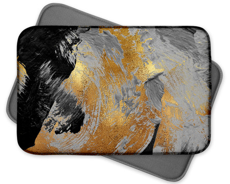 Abstract Art Custom Dish Drying Mat