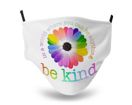 Be Kind Adjustable Straps Face Mask