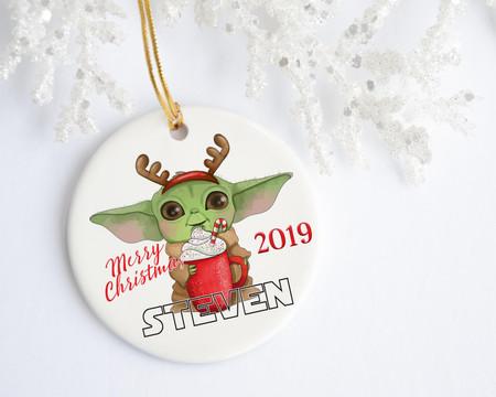 Baby Yoda First Christmas Gift