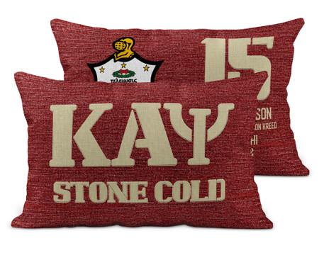 Kappa Alpha Psi Brick Pillow Cover