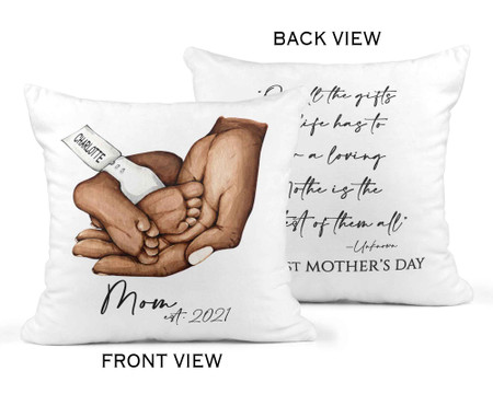 New Mom First Mother's Day Pill - Dark Skin Tone